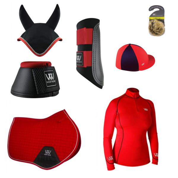 Woof Wear CC Set - Royal Red