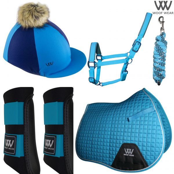 Woof Wear Pony Set - Turquoise