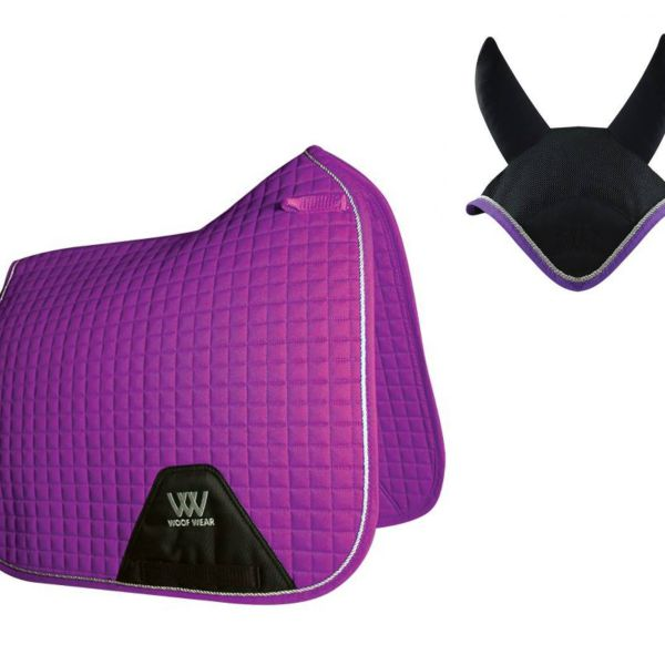 Woof Wear Dressage Set - Ultra Violet