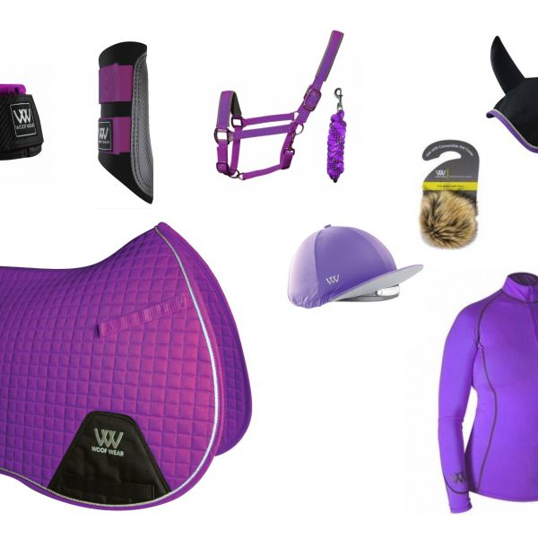Woof Wear Full Monty GP Set - Ultra Violet