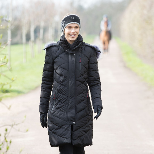EQUETECH INFERNO LONG HEATED COAT